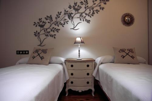 Twin Room - single occupancy Hotel Rural Doña Berenguela 1