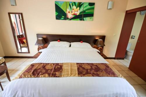 Dubbelrum Tropical (Tropical Double Room)