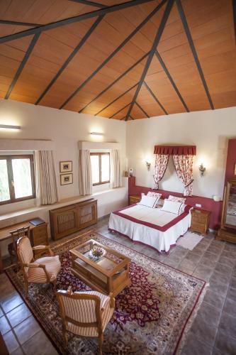 Suite mit Bergblick - Einzelnutzung Hotel Rural Masía la Mota 5