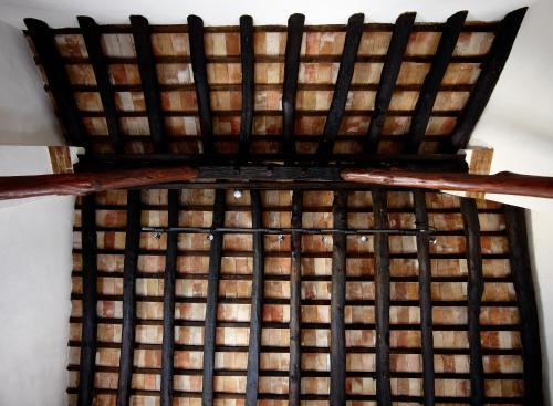 Junior Suite mit Balkon - Einzelnutzung Hotel Rural Masía la Mota 5