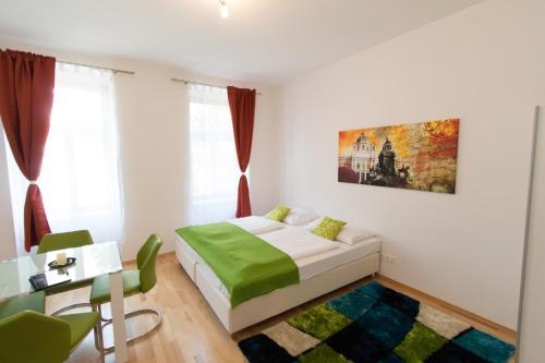 CheckVienna - Lassallestrasse - Apartment mit 1 Schlafzimmer