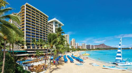 The Outrigger Waikiki on the Beach - 4.5 star rating for travel with kids