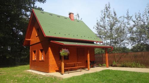 Chaty u rybníka Brodský