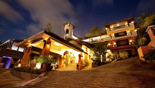 C & N Resort and Spa front view