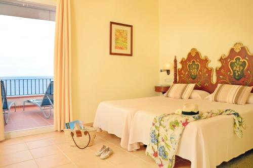 Superior Doppelzimmer mit Meerblick Hotel Sant Roc 1