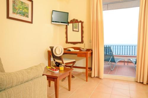 Habitación Doble Superior con vistas al mar Hotel Sant Roc 3