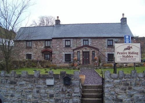 Photo of Pentre Riding Stables Hotel Bed and Breakfast Accommodation in Abercraf Powys