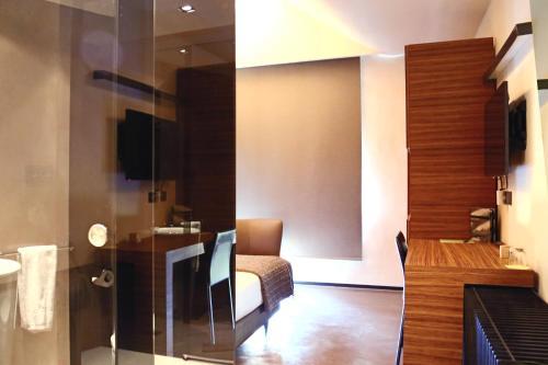 Habitación Individual Business Cava & Hotel Mastinell 3