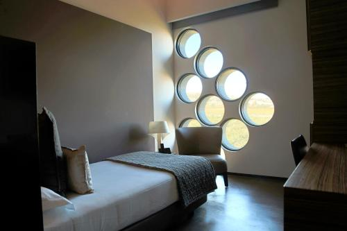 Habitación Individual Business Cava & Hotel Mastinell 4