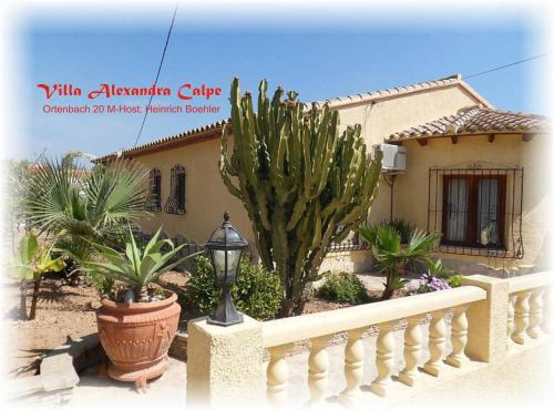 Villa Alexandra Calpe, hotel en Calpe