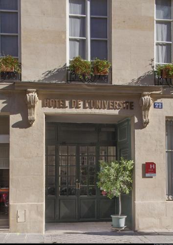 hotel hotel de l 39 universite paris france online reservation tripvizor. Black Bedroom Furniture Sets. Home Design Ideas