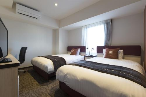 Superior Twin Room with Two Double Beds - Non-Smoking