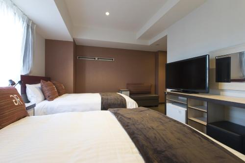 Superior Twin Room with Two Double Beds - Smoking