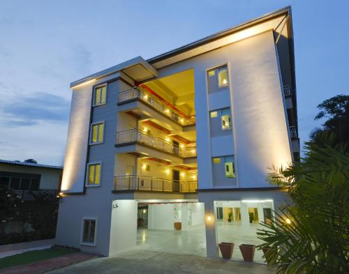 T Series Place Serviced Apartment front view