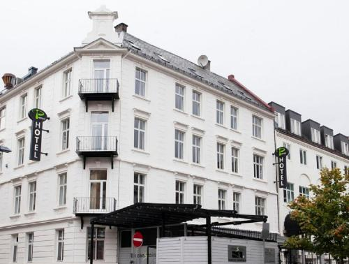 P-Hotels Bergen front view