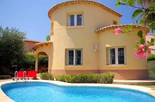 Отель Apartment with garden in Denia 0 звёзд Испания