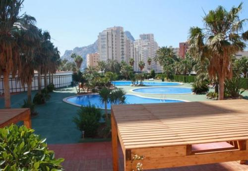 Apartament with pool, views in Alicante