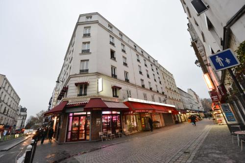 Hotel de la poste h tel 94 rue riquet 75018 paris - Office du tourisme italien paris horaires ...