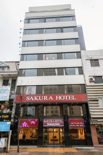 Sakura Hotel front view