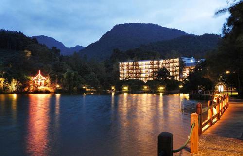 Hong Zhu Shan Hotel front view