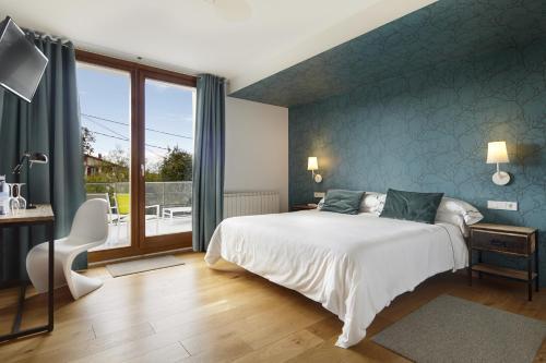 Habitación Doble - 1 o 2 camas Hotel San Prudentzio 22