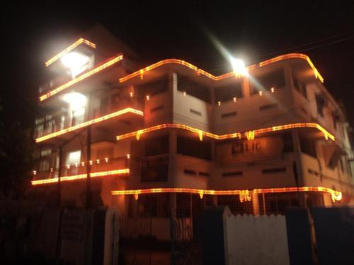 R J Singh Rest House front view