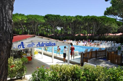 Albatross Mobile Homes on Camping Villaggio Adriatico
