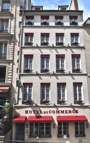 H tel du commerce h tel 14 rue de la montagne sainte for Chambre de commerce de paris horaires