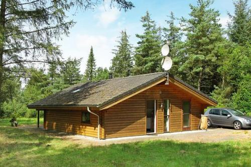 Three-Bedroom Holiday home in Skals 5