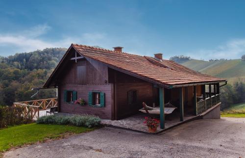 Ferienappartements am Gamlitzberg - Apartment mit 1 Schlafzimmer und Gartenblick