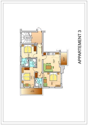 Appartement Oskar