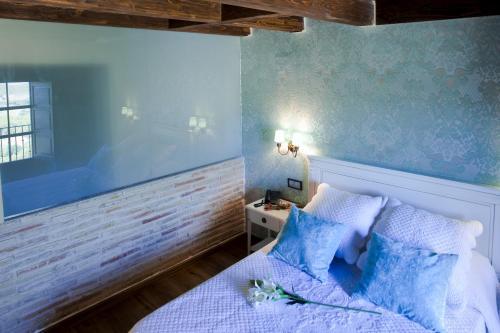 Vierbettzimmer mit Bergblick Hotel Real Posada De Liena 5