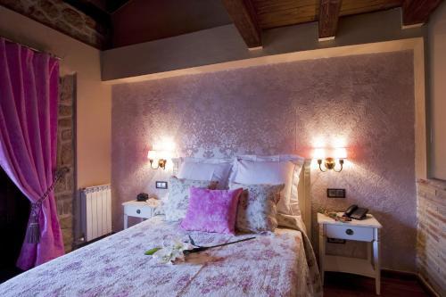 Vierbettzimmer mit Bergblick Hotel Real Posada De Liena 1