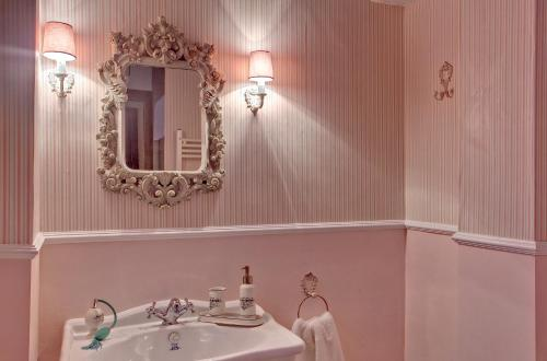 Vierbettzimmer mit Bergblick Hotel Real Posada De Liena 2