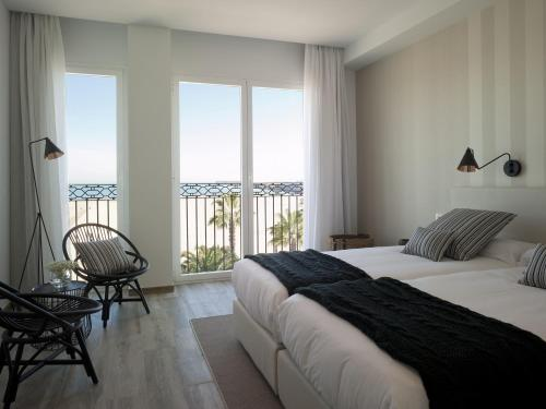 Double Room with Sea View - single occupancy Hotel Boutique Balandret 1