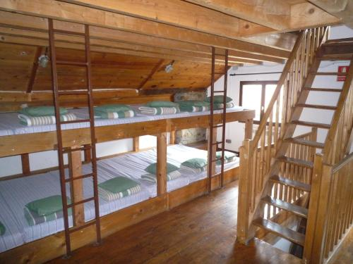 Llitera en dormitori compartit – Mixt (Bunk Bed in Mixed Dormitory Room)
