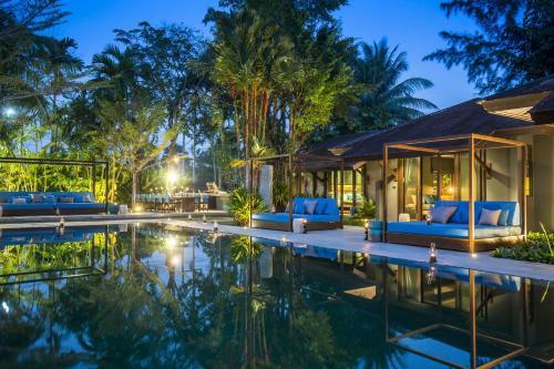 X2 Phuket Oasis Villa front view