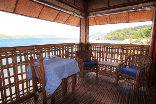 Deluxe Twin Room with Balcony and Sea View - View