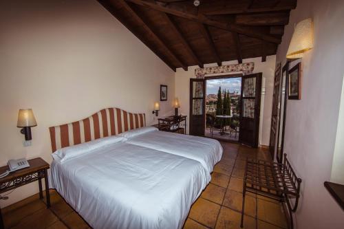 Doppel-/Zweibettzimmer mit eigener Terrasse Cigarral de Caravantes 9
