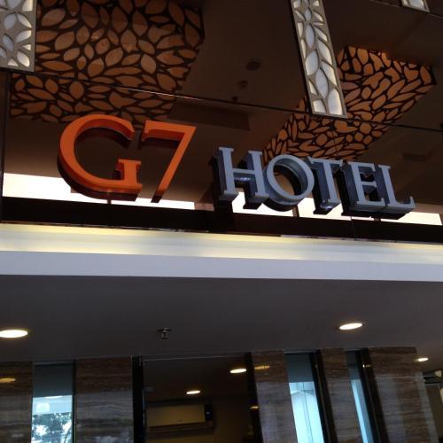 G7 Hotel Jakarta front view