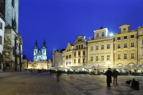 Отель Grand Hotel Praha 4 звезды Чешская Республика