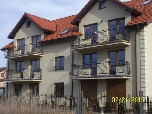 E-Apartamenty Łeba front view