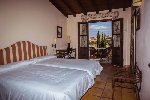 Doppel-/Zweibettzimmer mit eigener Terrasse Cigarral de Caravantes 3