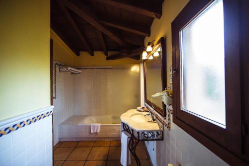 Doppel-/Zweibettzimmer mit eigener Terrasse Cigarral de Caravantes 14