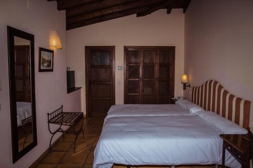 Doppel-/Zweibettzimmer mit eigener Terrasse Cigarral de Caravantes 6