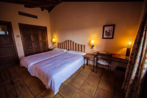 Doppel-/Zweibettzimmer mit eigener Terrasse Cigarral de Caravantes 8