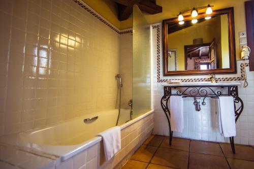 Doppel-/Zweibettzimmer mit eigener Terrasse Cigarral de Caravantes 7