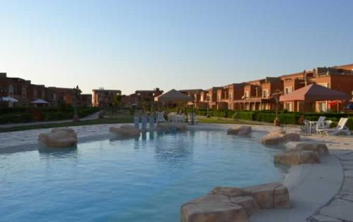 Swimming pool Chalets at Marina Wadi Degla Ain Sokhna