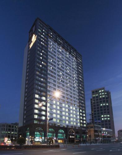 Отель Crown Harbor Hotel Busan 4 звезды Корея, Республика