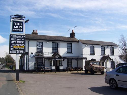 The Lion Brewery hotel in Ash